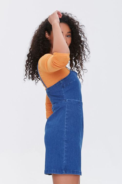 Denim Pinafore Dress, image 2