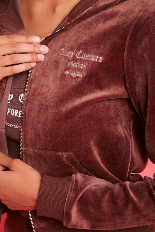 Juicy Couture Velour Zip-Up Jacket, image 5