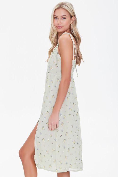 Gauzy Floral Print Dress, image 2