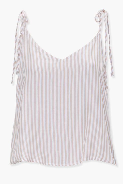 Striped Self-Tie Cami, image 1