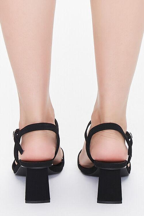Square-Toe Ankle-Strap Block Heels, image 3