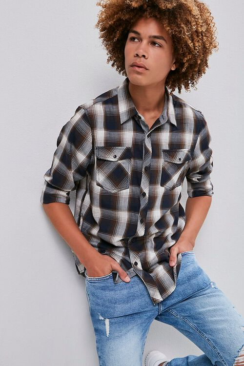 Classic Plaid Flannel Shirt, image 1
