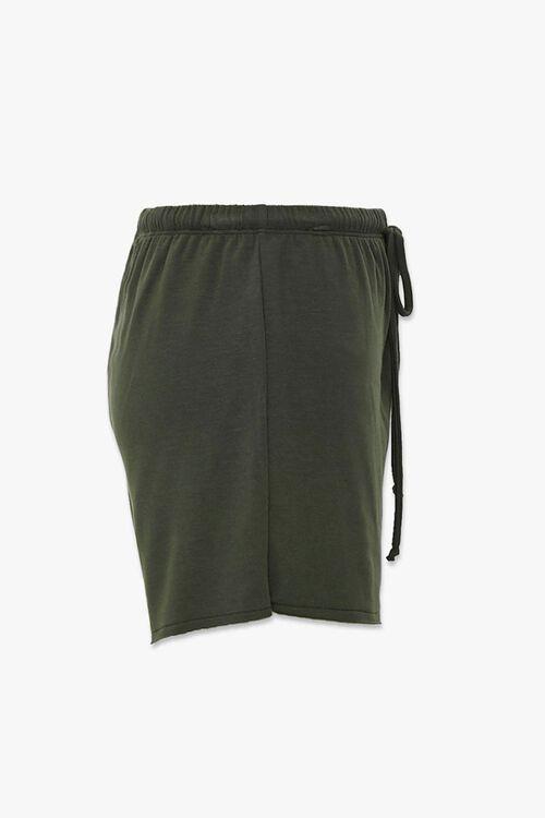 Drawstring Raw-Cut Shorts, image 2