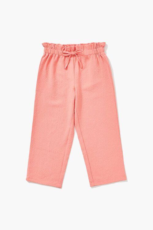 Girls Paperbag Pants (Kids), image 1