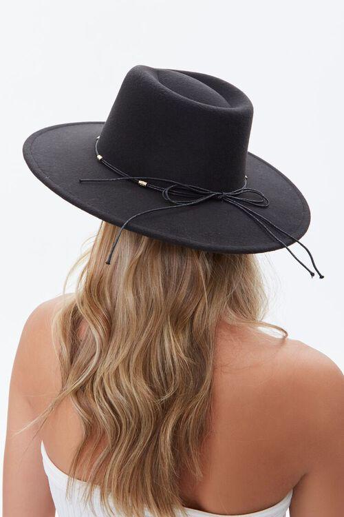 Felt Bow-Trim Panama Hat, image 2