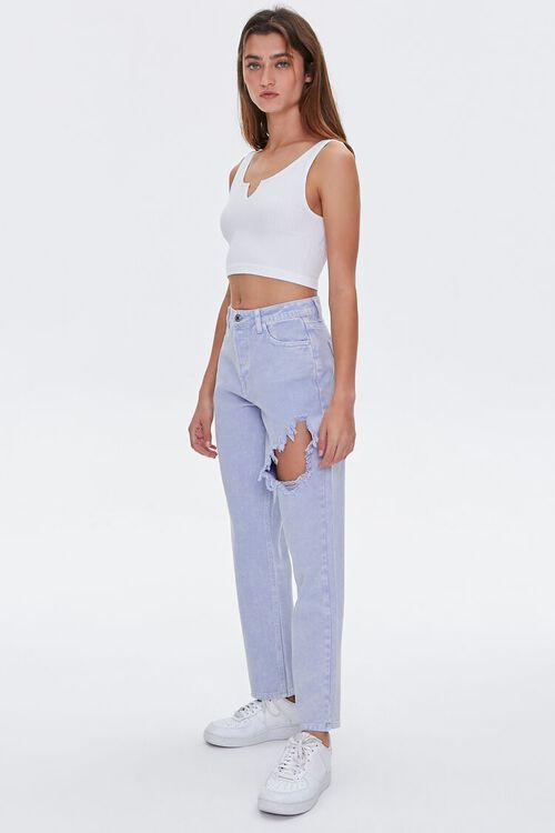 Straight-Leg High-Rise Jeans, image 5