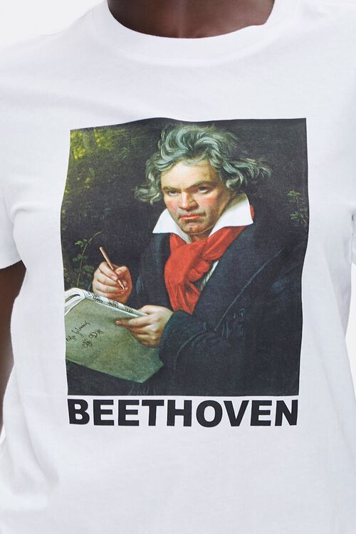 Organically Grown Cotton Beethoven Tee, image 5