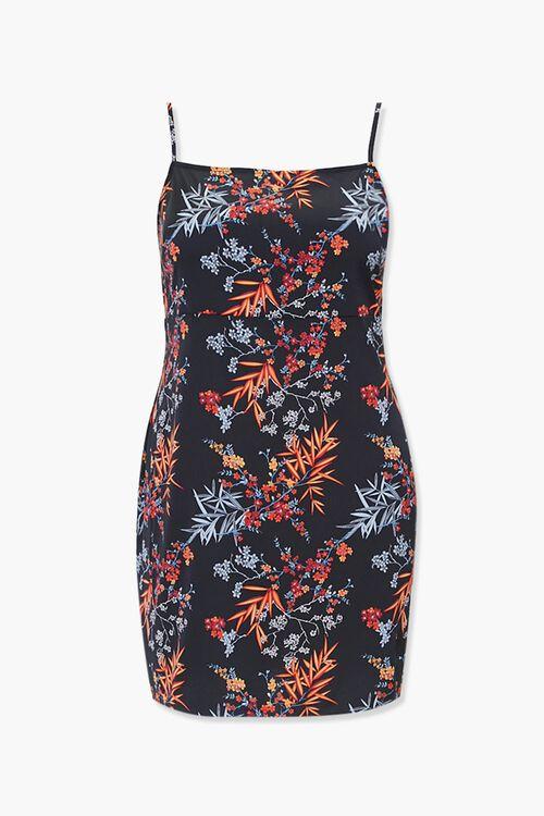 Plus Size Floral Mini Dress, image 1