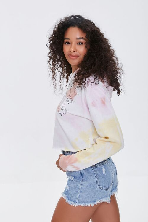 ACDC Tie-Dye Cropped Hoodie, image 2