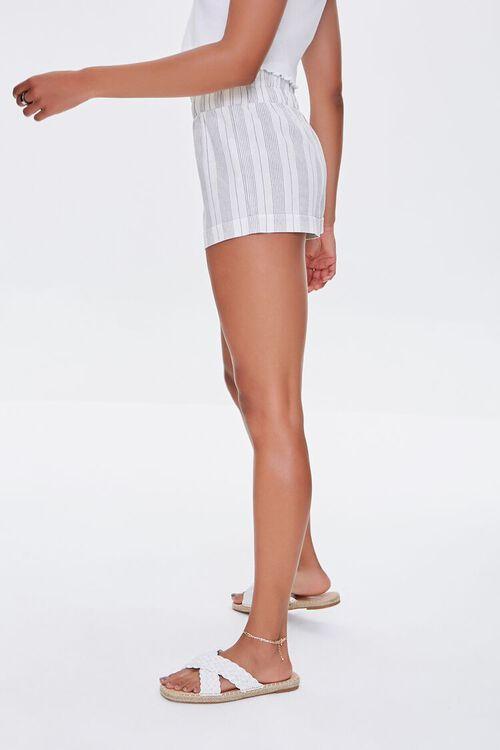 Striped Paperbag Shorts, image 3