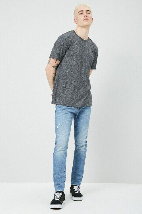 Lightly Distressed Slim-Fit Jeans, image 4