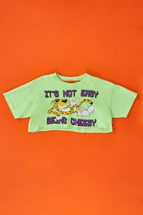 Cheetos Graphic Cropped Tee, image 5