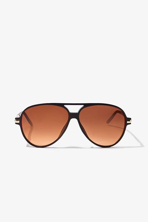 Tinted Aviator Sunglasses, image 1