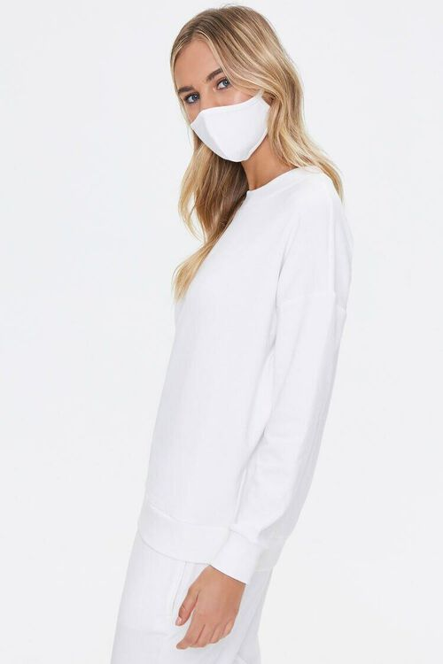 French Terry Sweatshirt & Face Mask Set, image 2