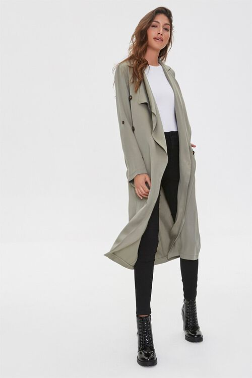 Chambray Duster Jacket, image 1