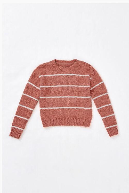 Girls Striped Sweater (Kids), image 1