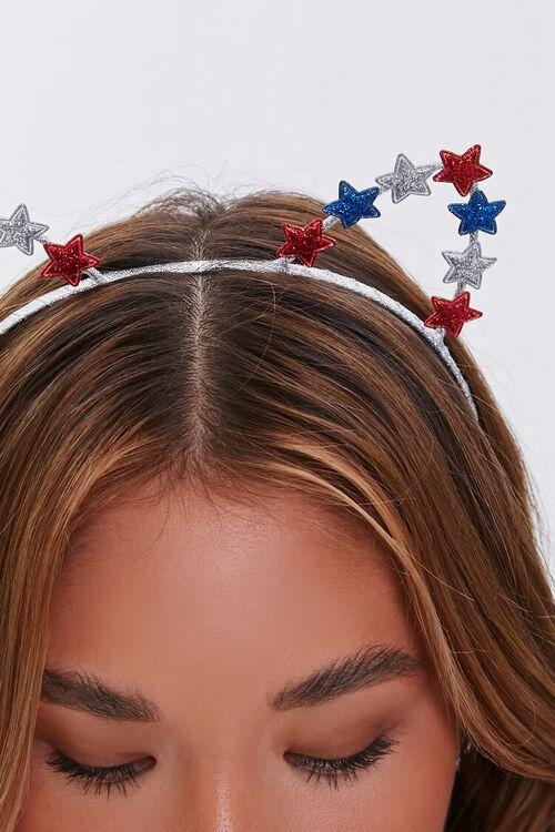 Star Charm Cutout Cat Ear Headband, image 2