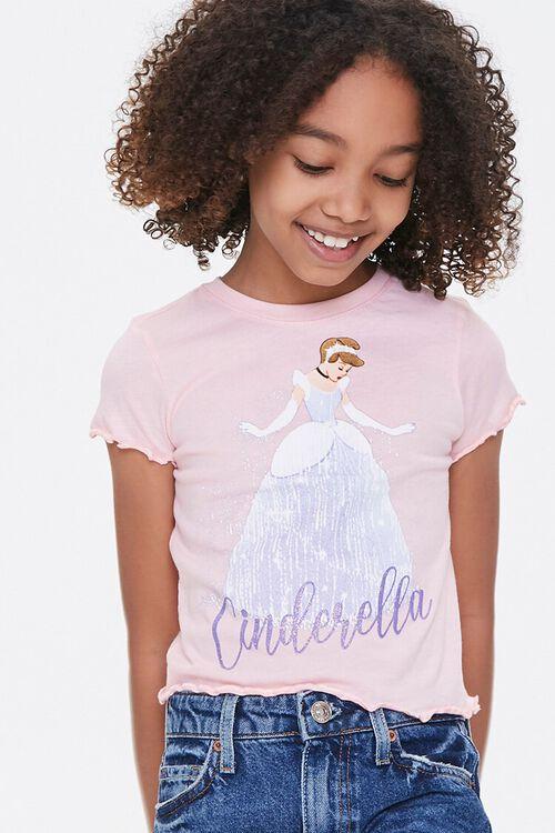 Girls Cinderella Graphic Tee (Kids), image 1