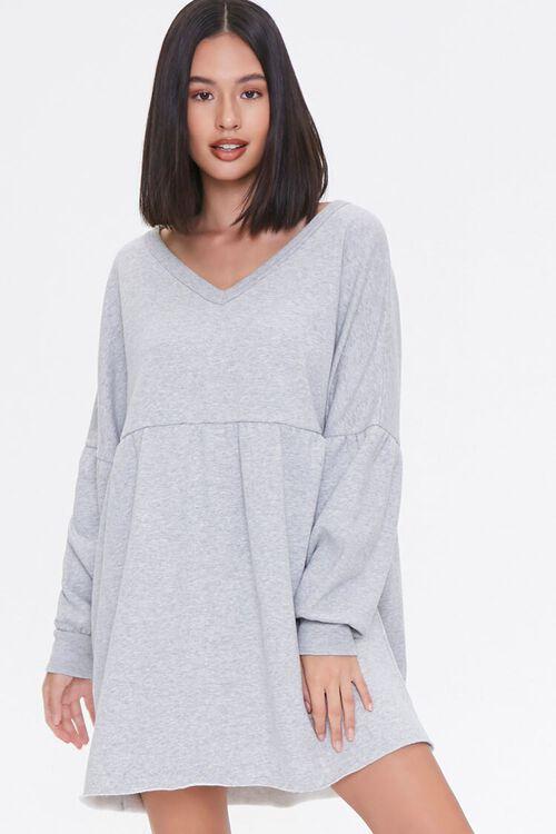 Drop-Sleeve Mini Dress, image 1