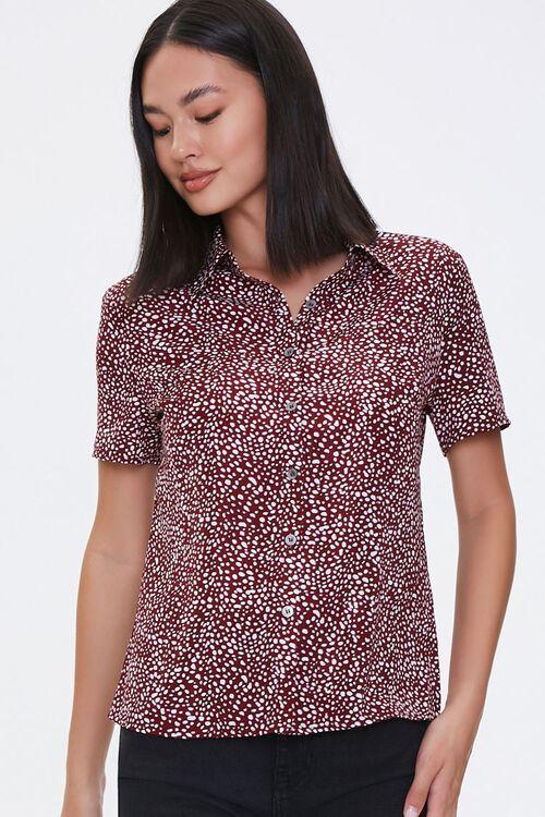 Cheetah Print Shirt, image 1