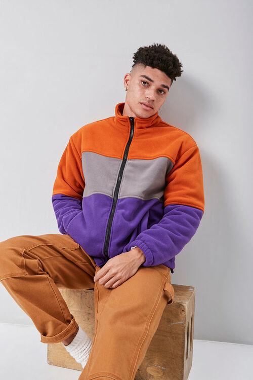 Fleece Colorblock Jacket, image 1