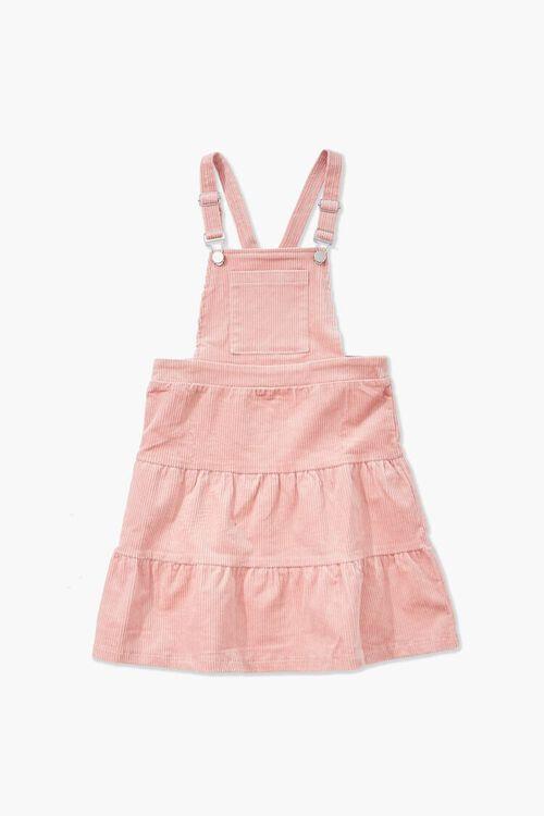 PINK Girls Corduroy Overall Dress (Kids), image 1