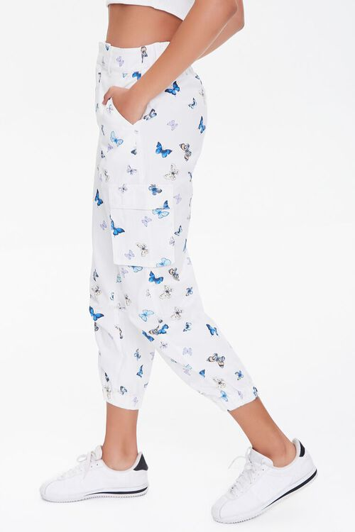 Butterfly Print Joggers, image 3