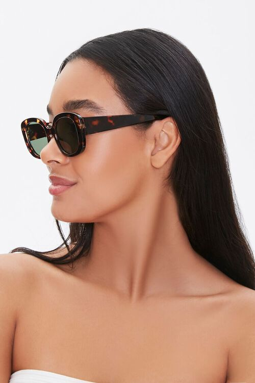 Tinted Oval Sunglasses, image 2