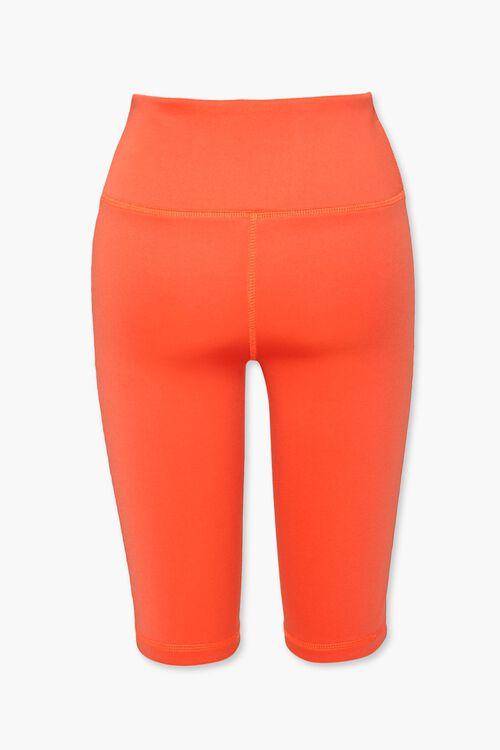 ORANGE High-Rise Biker Shorts, image 3