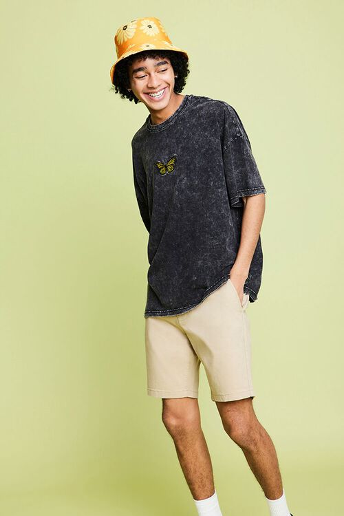 Relaxed Woven Shorts, image 1