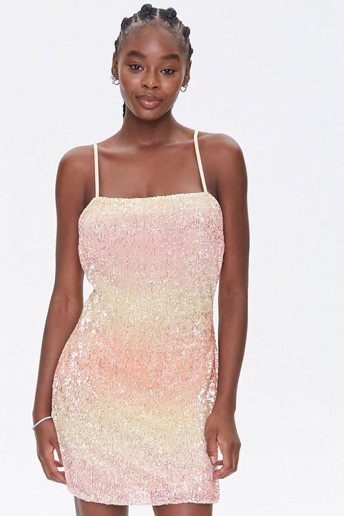 Sequin Cami Mini Dress, image 1