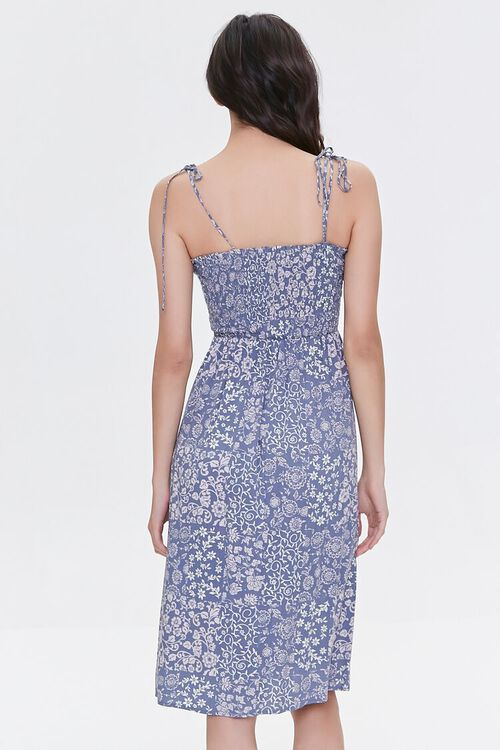Tie-Strap Paisley Dress, image 4