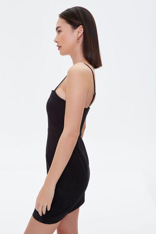 Twill Bodycon Mini Dress, image 2