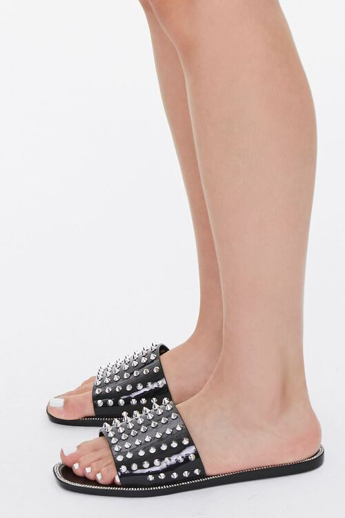 Studded Rhinestone Sandals, image 2