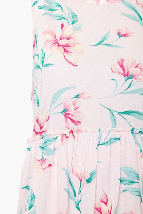 Tropical Floral Sleeveless Top, image 4