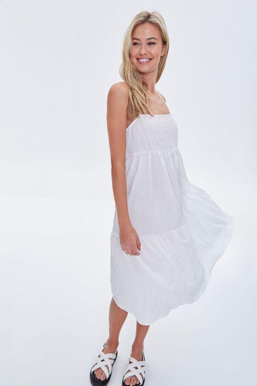 Textured Flounce Cami Dress, image 2