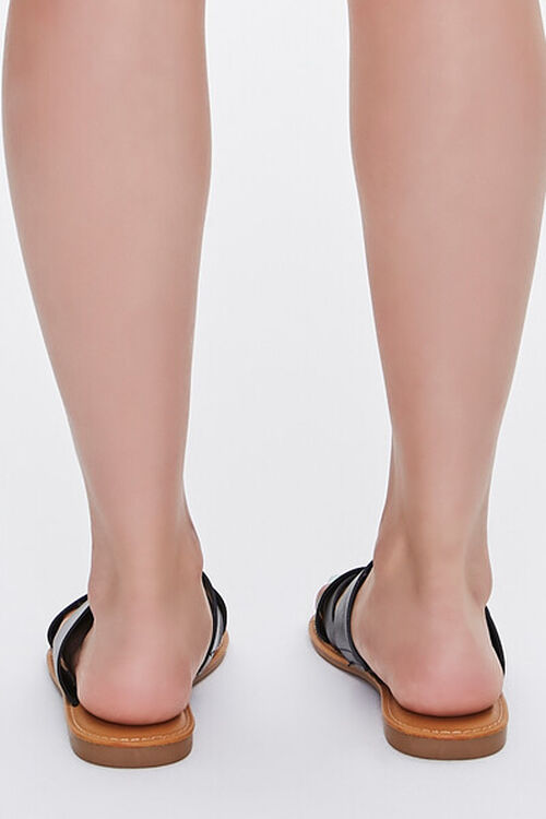 Caged Crisscross Sandals, image 3
