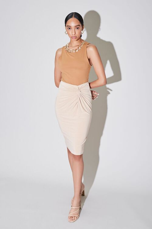 Knotted Pencil Skirt, image 5