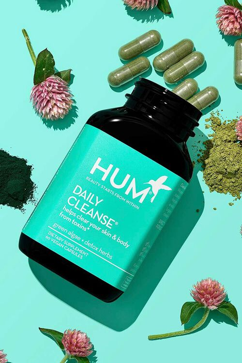 GREEN Hum Nutrition Daily Cleanse - Clear Skin and Acne Supplement, image 1