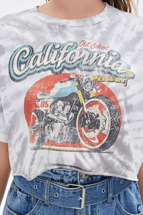 California Motorcycle Graphic Cropped Tee, image 5