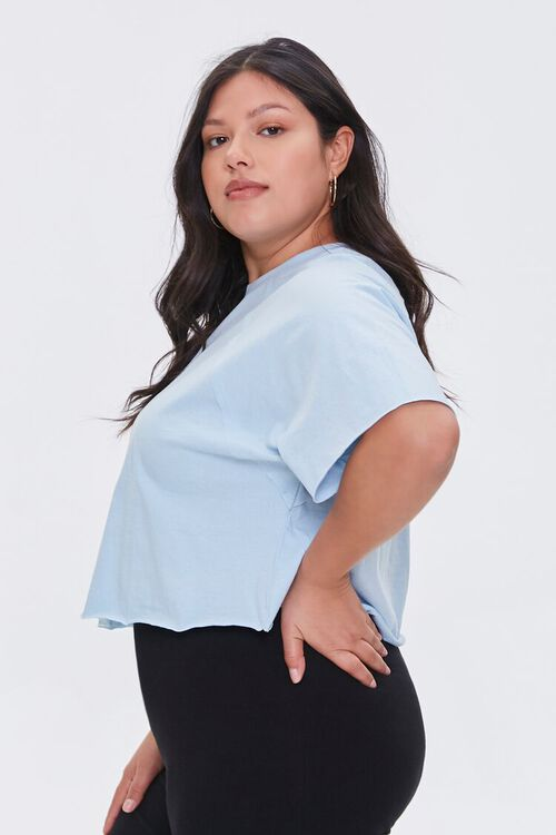 Plus Size Cropped Tee, image 2