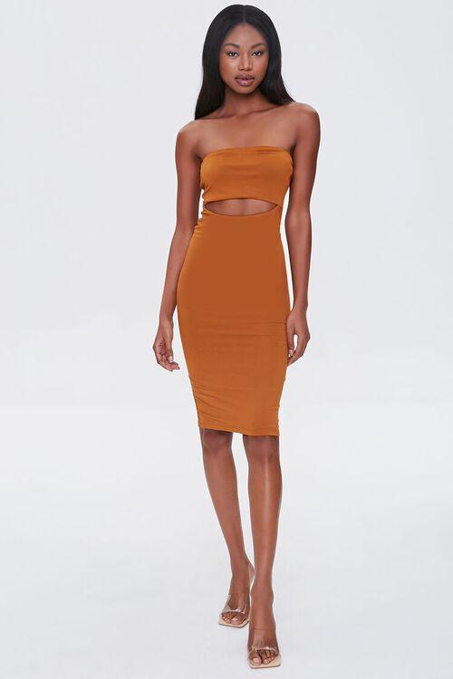 Cutout Bodycon Tube Dress, image 4