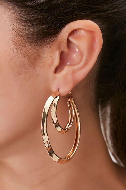 Concentric Hoop Earrings, image 1