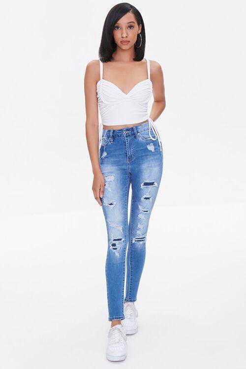 Premium Distressed Curvy Jeans, image 1
