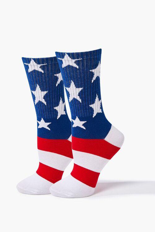 Stars & Stripes Crew Socks, image 1