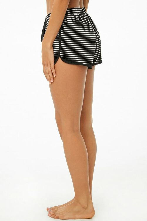 Striped Dolphin Lounge Shorts, image 3