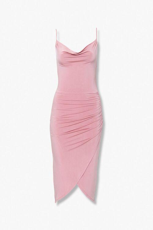Cowl-Neck Cami Dress, image 1