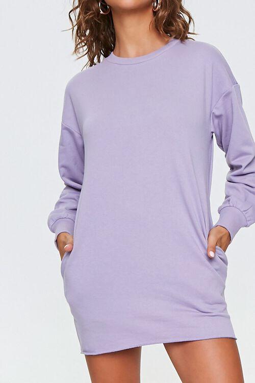 French Terry Sweatshirt Dress, image 1