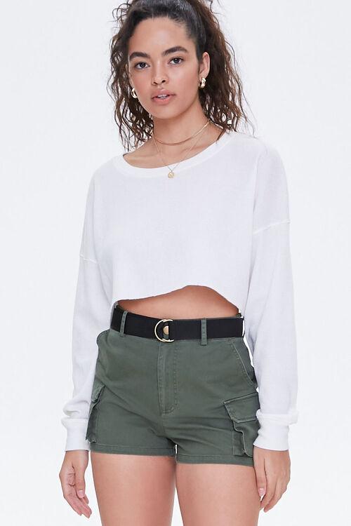 Twill Cargo Shorts, image 1