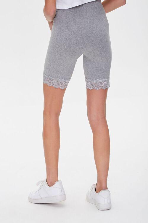 Lace-Trim Biker Shorts, image 4